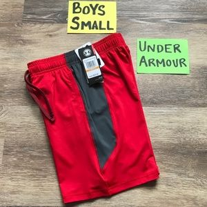 🛍40% OFF Under Armour Boys Size Small Shorts